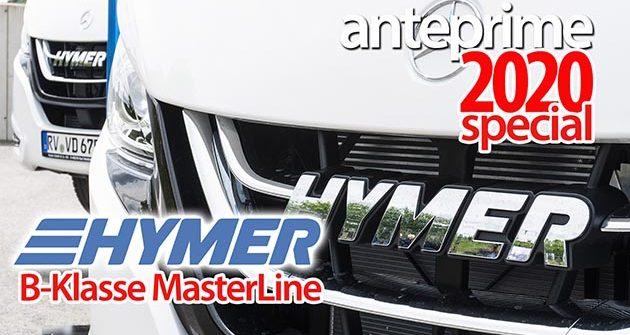 Video Anteprime 2020: Hymermobil B-Klasse MasterLine