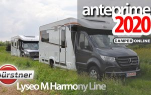 Anteprime 2020: Bürstner, ecco i nuovi Lyseo M Harmony Line