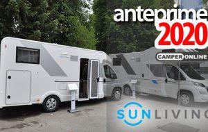 Anteprime 2020: Sun Living presenta il mansardato con letti gemelli