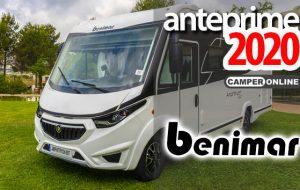 Anteprime 2020: Benimar presenta il nuovo motorhome Amphitryon