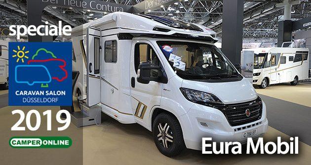 Caravan Salon 2019: Eura Mobil
