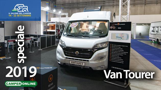 Salone del Camper 2019: Van Tourer