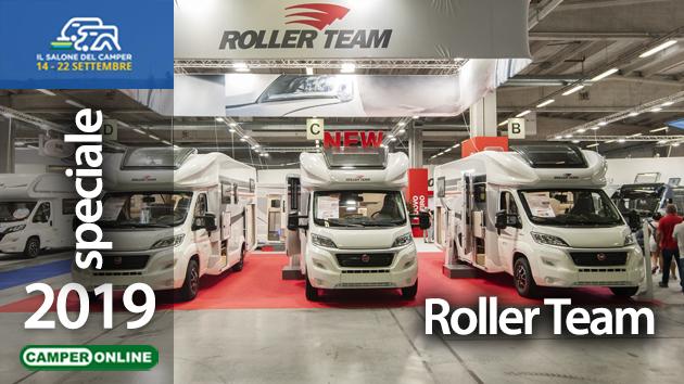 Salone del Camper 2019: Roller Team