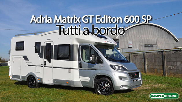 Adria Matrix GT Edition 600 SP