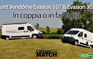 CamperOnMatch: Font Vendôme Evasion 107 & Evasion 305