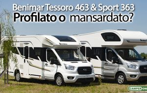 Benimar Sport 363 & Tessoro 463