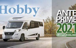 Anteprime 2021: Hobby, i camper