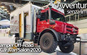 Video dal Caravan Salon: i mezzi per l'avventura