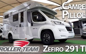 Camper in Pillole: Roller Team 291 TL