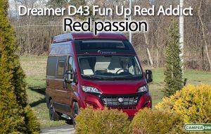 Dreamer Fun D43 Up Red Addict