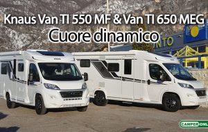 Knaus Van TI 550 MF & Van TI 650 MEG Vansation