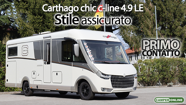 Carthago Chic c-line 4.9 LE Mercedes