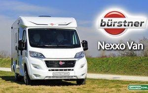 Bürstner: svelati i nuovi profilati compatti Nexxo Van