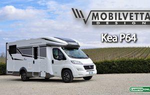 Mobilvetta, presentato l'inedito Kea P64