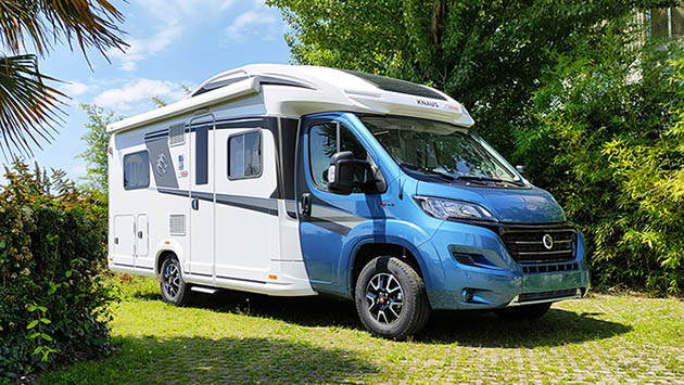 Camper in Pillole: Knaus Sky Wave 650 MF 60 Years