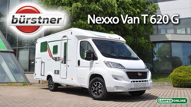 Bürstner: scovato l'inedito Nexxo Van T 620 G