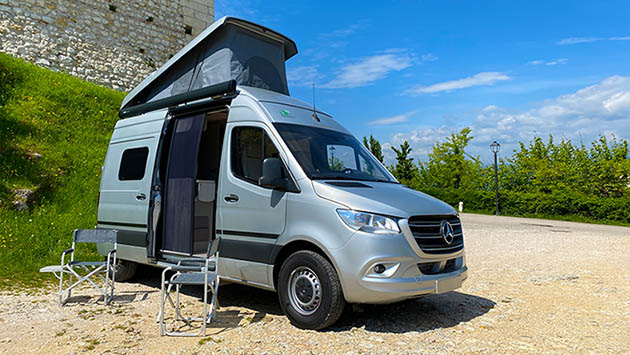 Video CamperOnTest: Hymer Free S 600