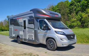 Video CamperOnTest: Arca Europa New Deal P745 GLG