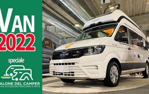Speciale Salone del Camper: i van e i veicoli polivalenti del 2022, tra novità e conferme