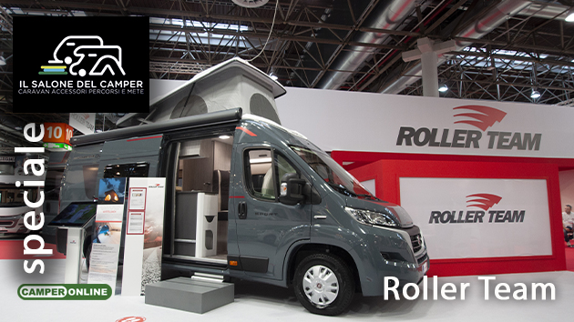 Salone del Camper 2021: Roller Team